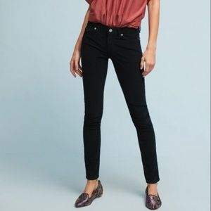 The Cords & Co Hun Corduroy Low-Rise Skinny Pants